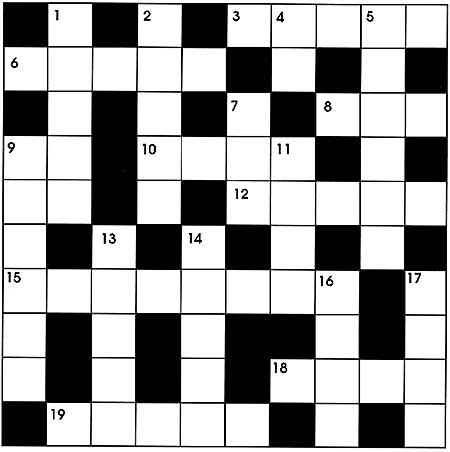 Thomas Joseph – King Feature Syndicate – June 19 2018 Crossword Answers